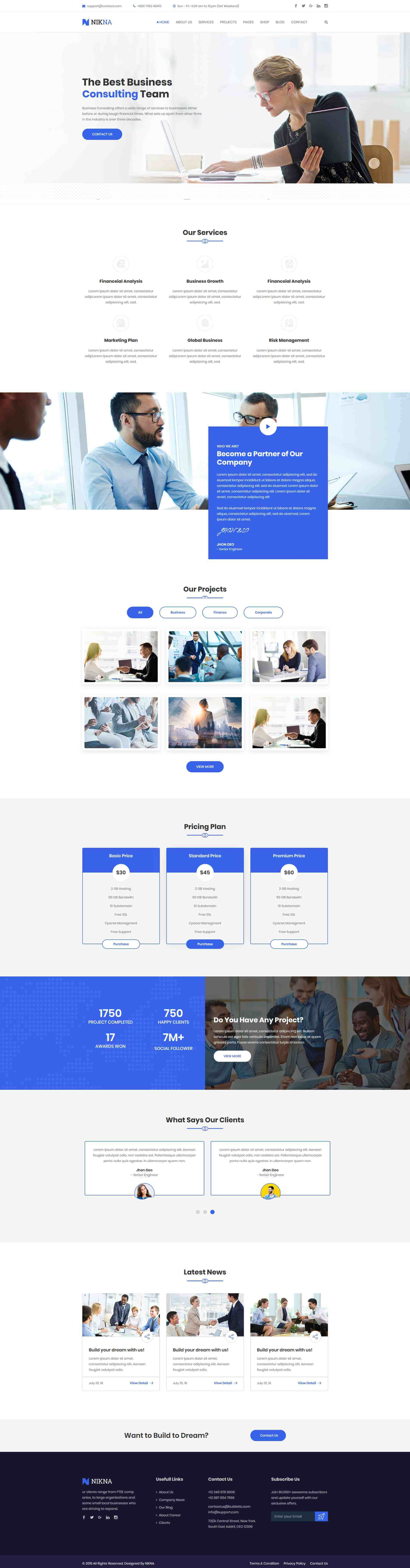 NIKNA – Business Consulting HTML Template(1)